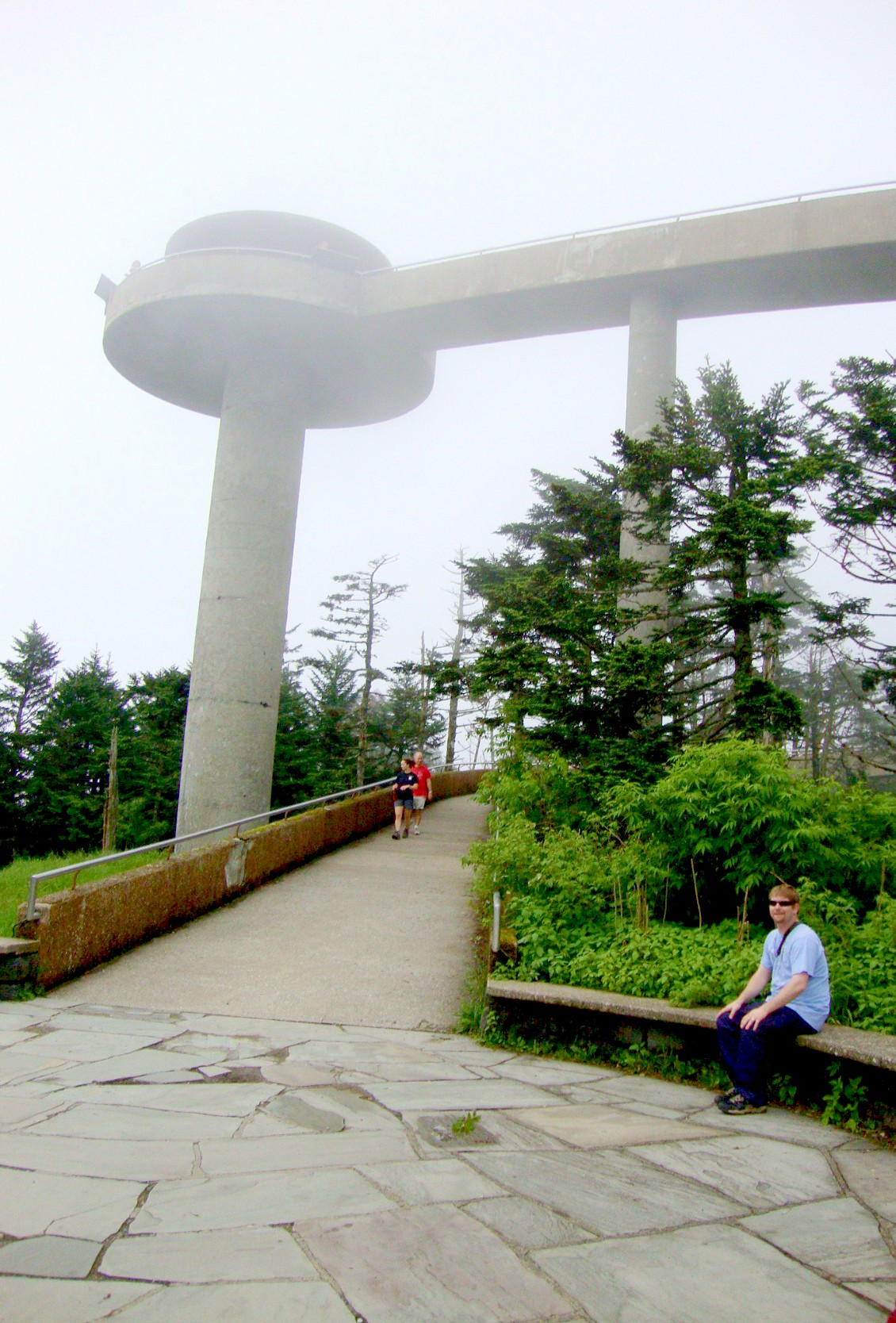 At the Clingmans Dome in Pigeon Forge, TN