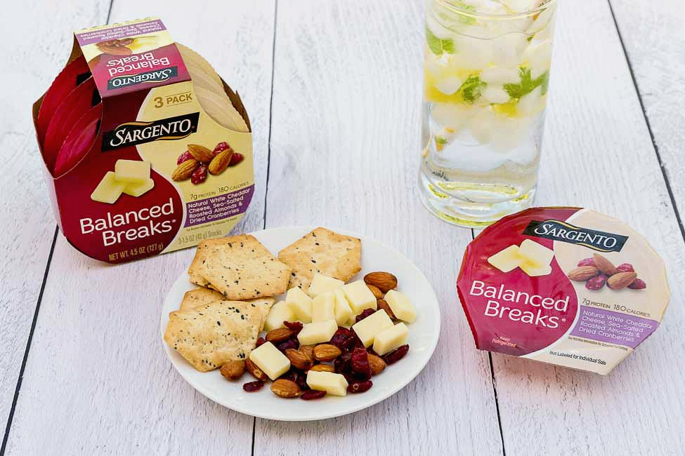 Sargento Balanced Breaks: I love the variety of natural cheese pieces paired with crunchy roasted nuts and sweet dried fruits in these snacks. They're great for afternoon snacks!
