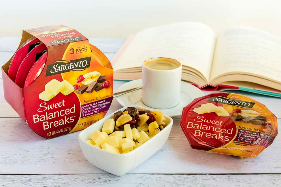 Sargento Sweet Balanced Breaks are a great way to combat my craving for something sweet!