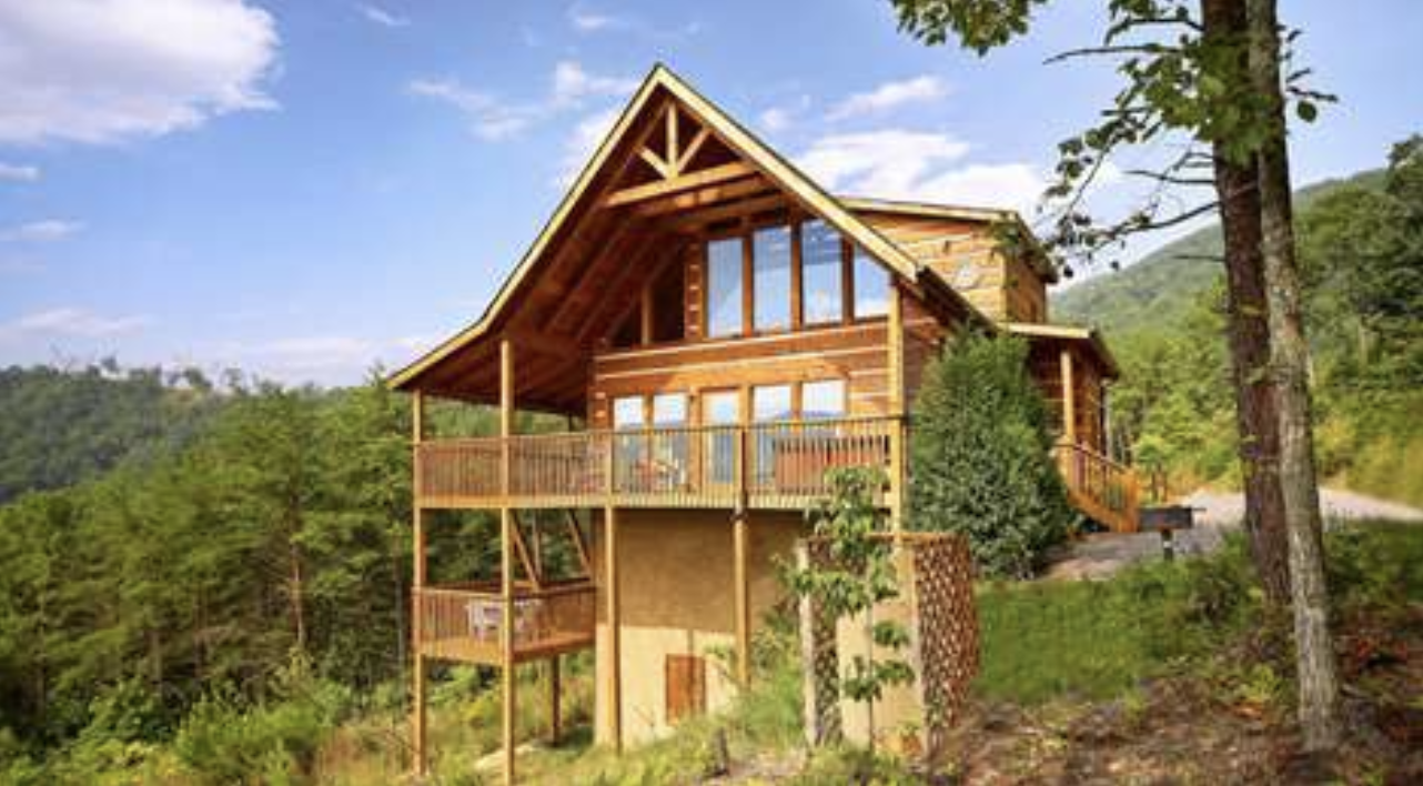 a rental cabin at Mountain Rentals by Natural Retreats in Pigeon Forge, TN