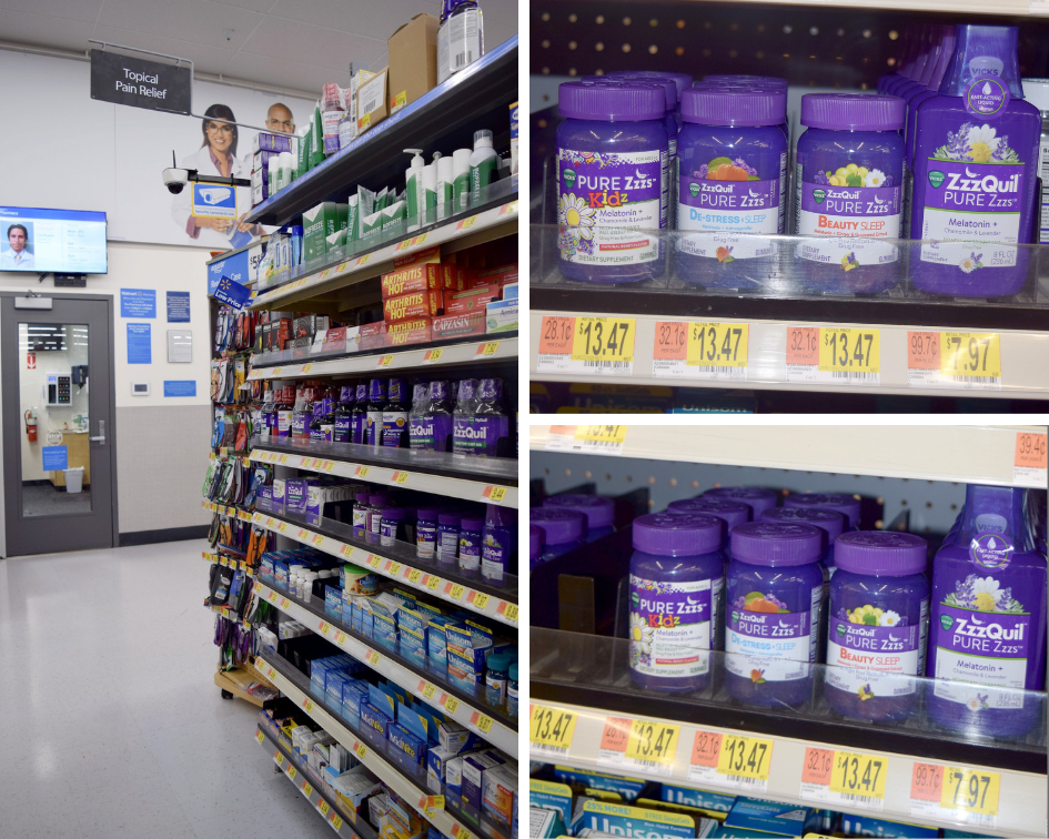 ZzzQuil Pure Zzz's Melatonin Liquid and ZzzQuil Pure Melatonin Gummies are NEW and available ONLY at Walmart!