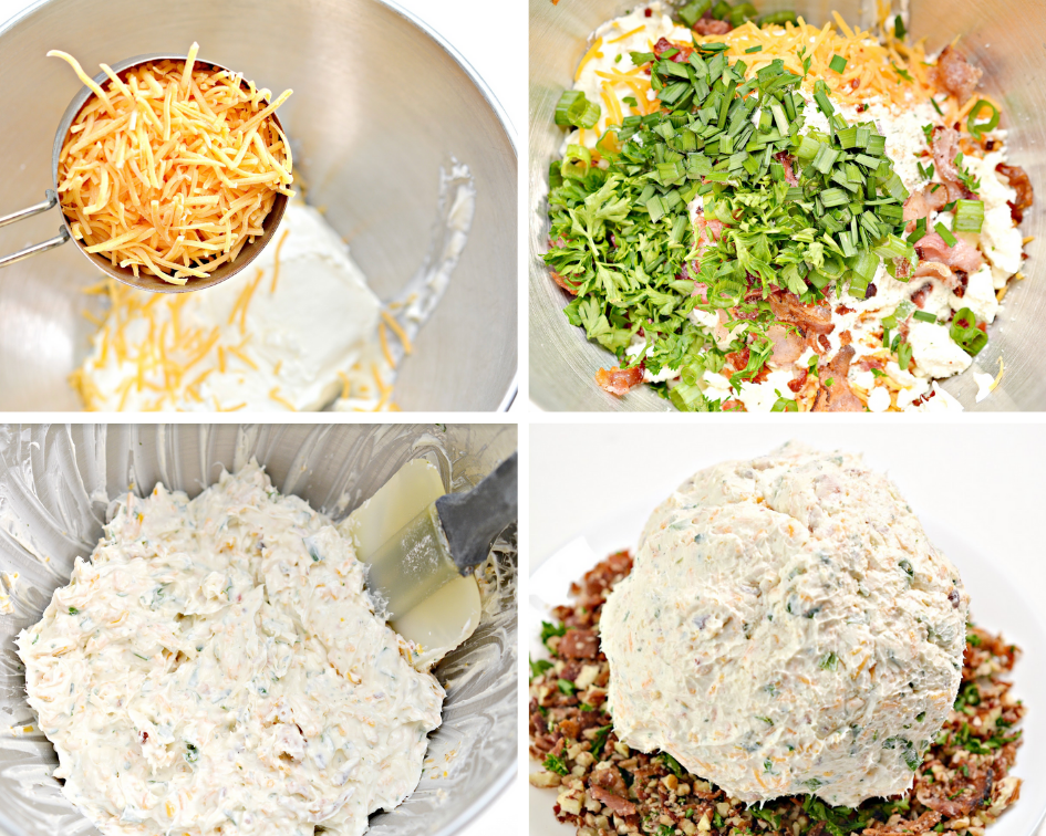 Bacon Ranch Cheeseball Recipe + Quick Tips for Hosting a Game Day Party #ad #Nexium24HrGameReady #CollectiveBias