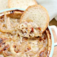 Hot Caramelized Onion and Bacon Dip