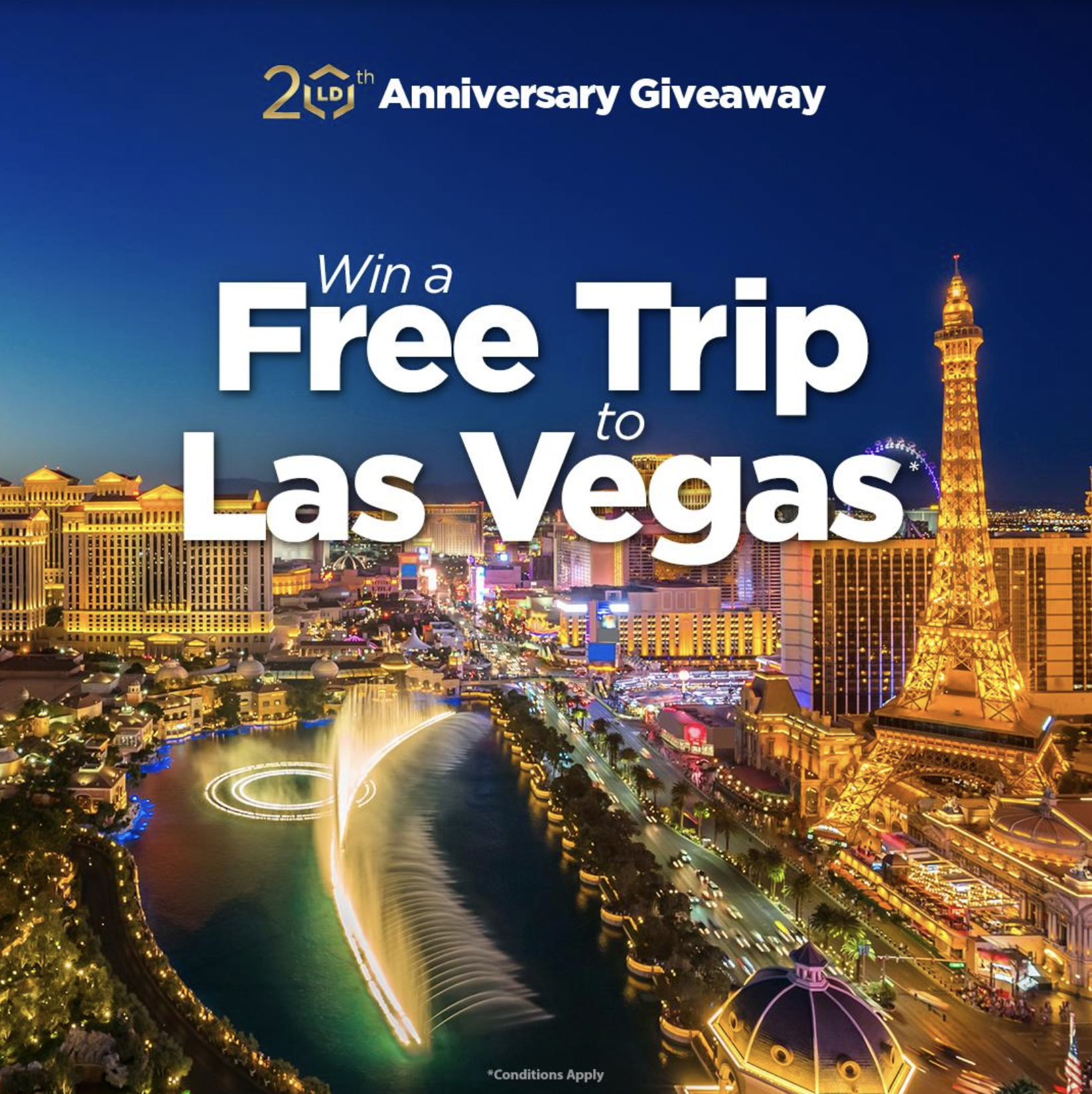 Getting premium prints doesn't have to break the bank with affordable ink and toner at LD Products! Plus, a chance to win a trip for two to Las Vegas!
