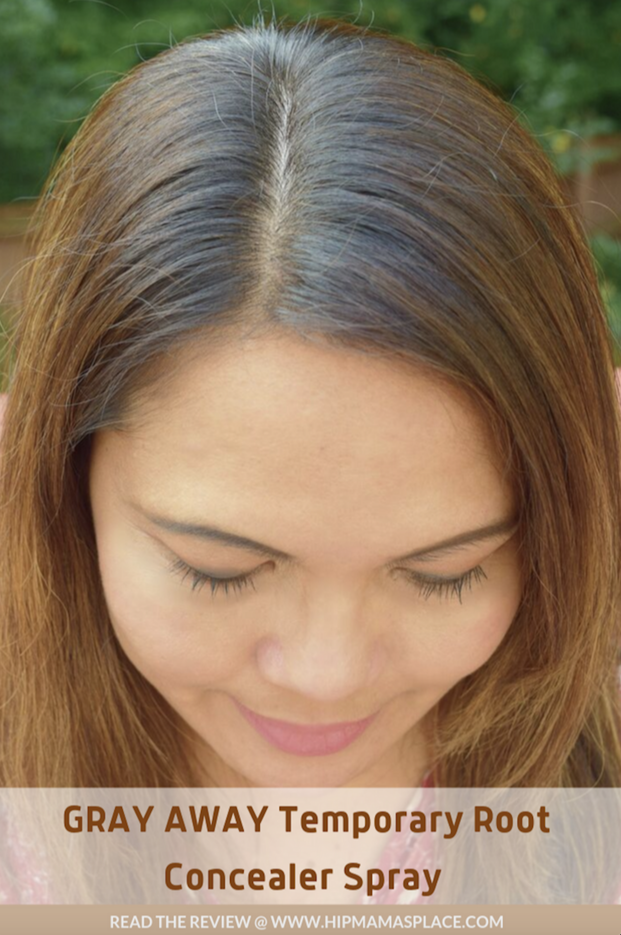 Thanks to Gray Away Temporary Root Concealer Spray, I can easily and affordably touch up my gray hairs without spending a fortune at the salon every time! #ad #GrayAwayPartner #rootconcealer #beforeandafter #hairstyle #haircolor