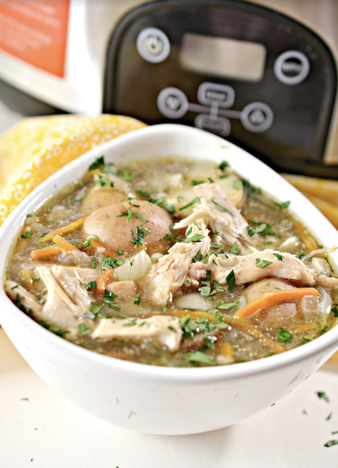 easy chicken stew recipe in the slow cooker