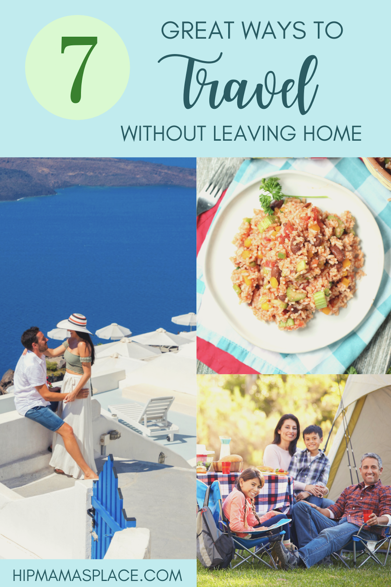 Whatever the reason for not being able to travel at this time, you can explore these 7 ways to travel without leaving home. #stayhome #quarantine #travelfromhome #travelideas #travelblog