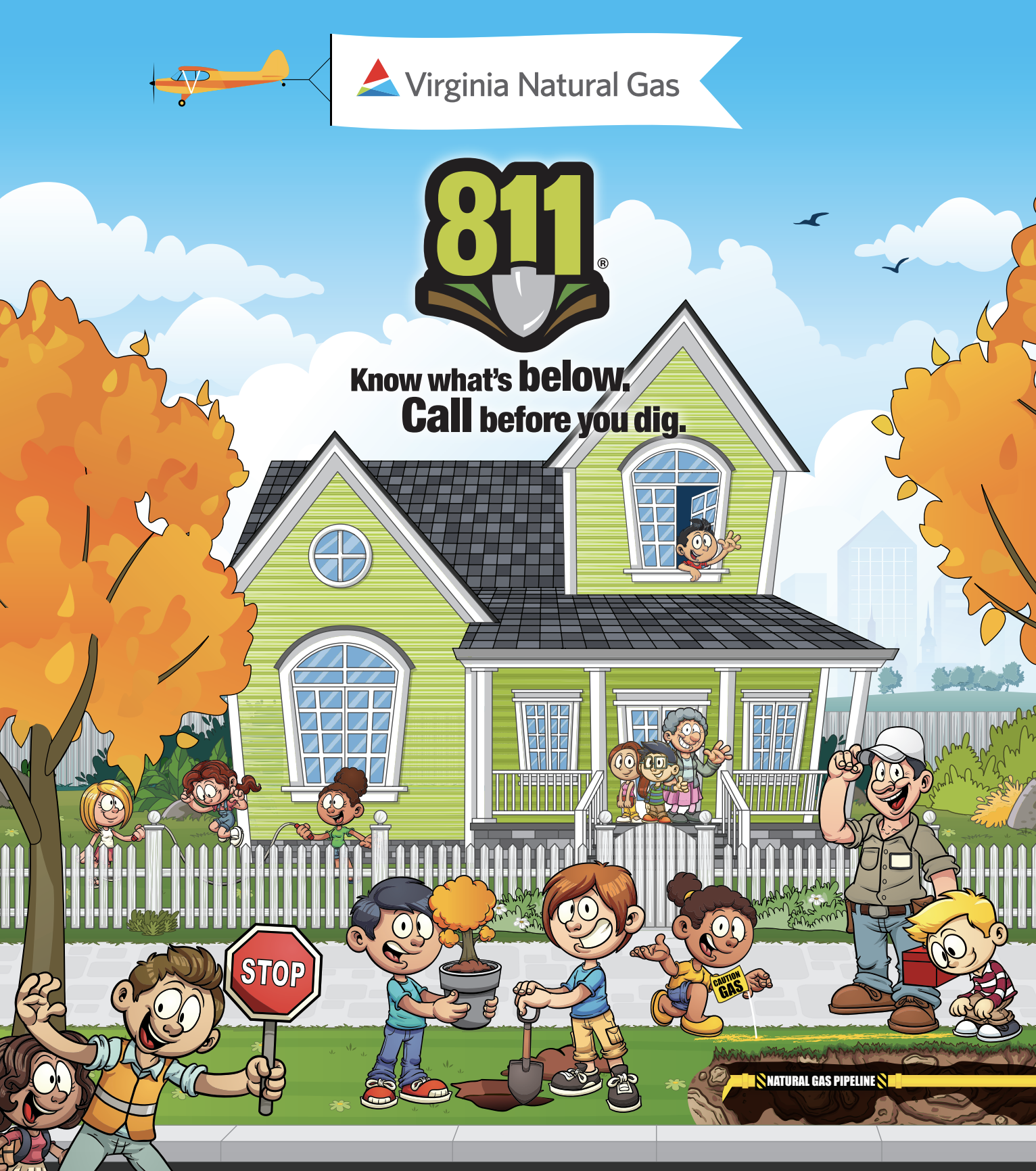 Keep children occupied while homeschooling with the Safe Digging Arcade- a digital learning tool that teaches kids about natural gas safety.