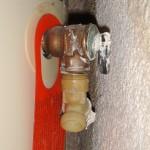 Temperature and Pressure relief valve capped.