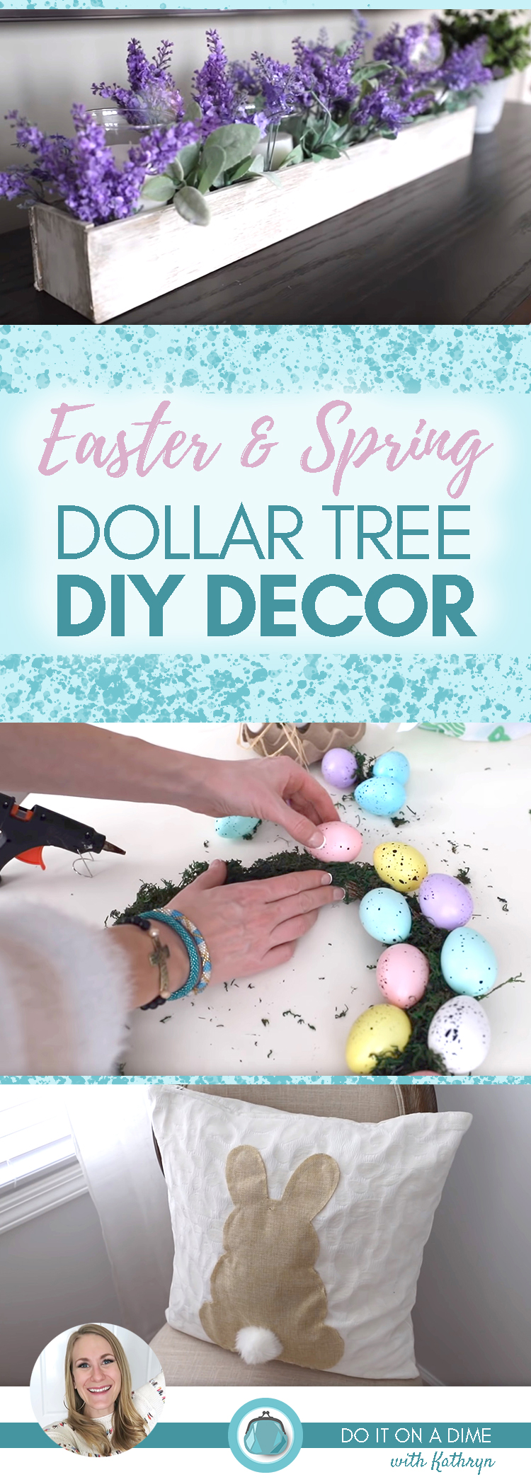 DIOAD- I Cleaned Up At Dollar Tree Pinterest Image
