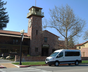 paradise limousine - wine tour paso robles - big van