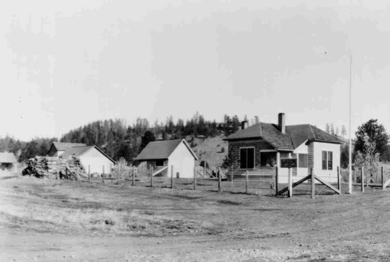 1935 Rager Ranger Station