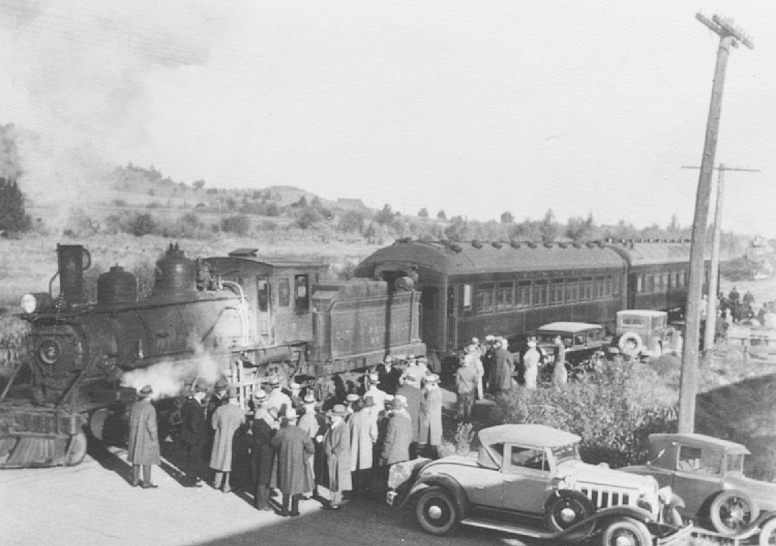 Early History of The City of Prineville Railway