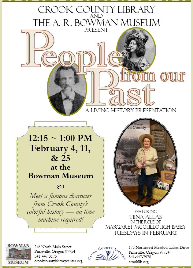 People From Our Past brings history to life at Bowman Museum