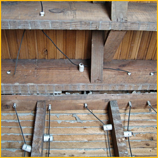 Wire WIz Electrician Services   Knob & Tube Removal
