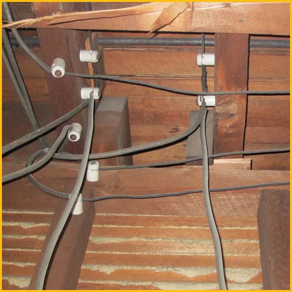 Wire Wix Electrician Services | Knob and Tube Removal | Content 5