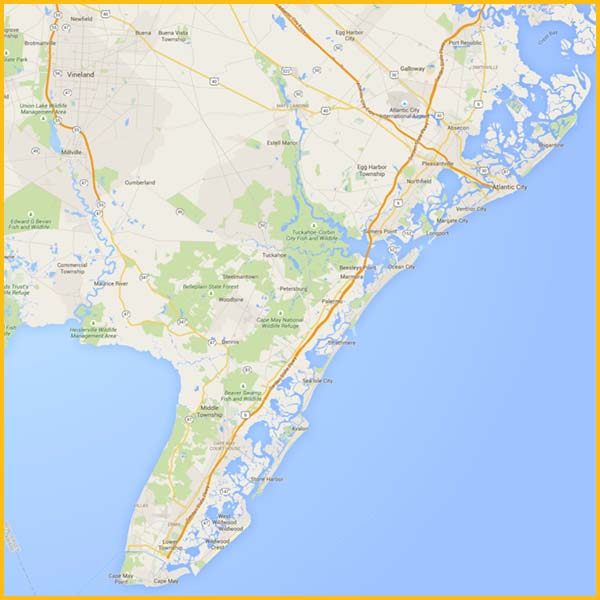 Wire Wiz Electrician Services | Service Area Map