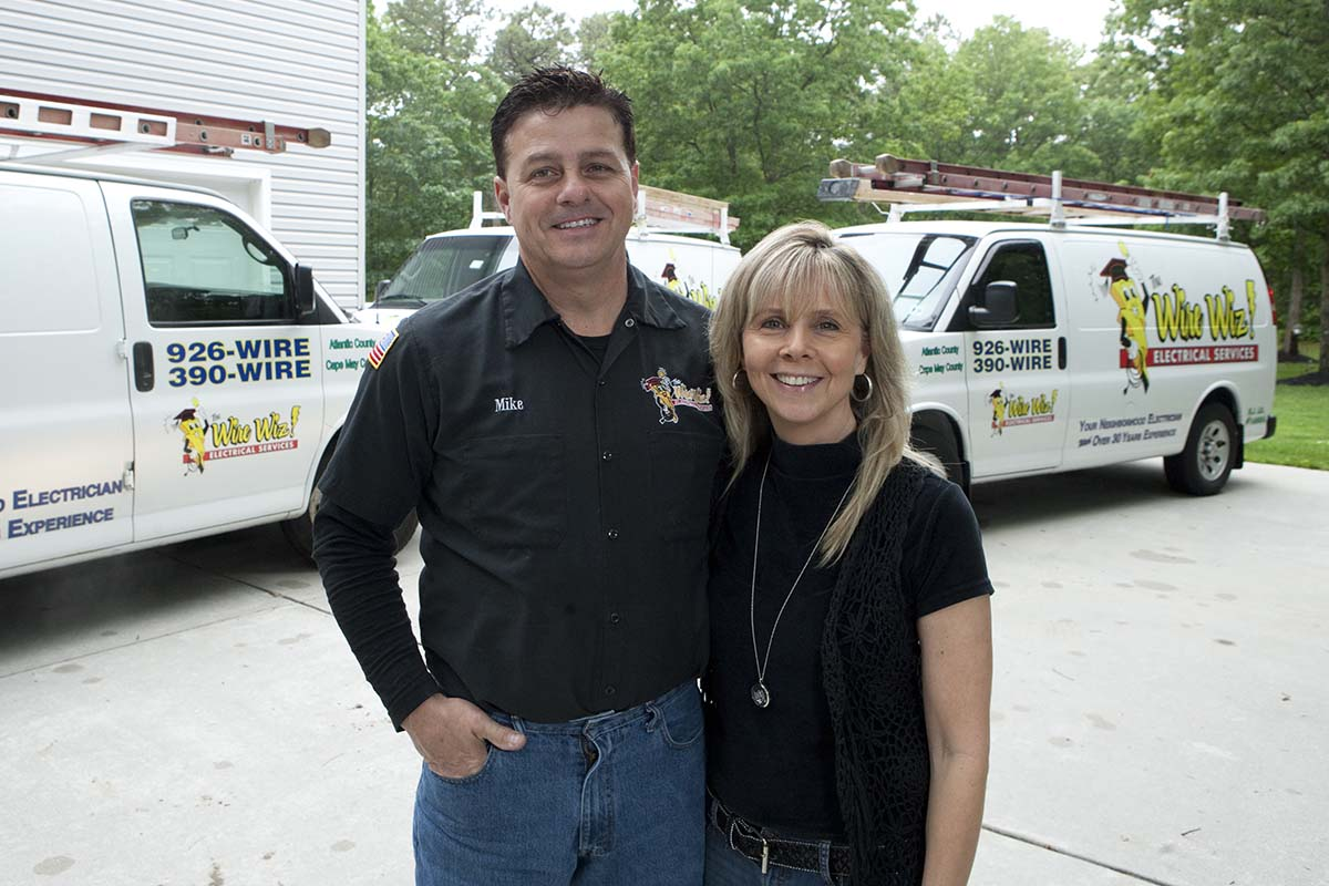 Virginia & Michael Darragh | Owners of Wire Wiz Electrician Services