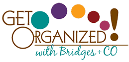 Get Organized with Bridges + Co Logo