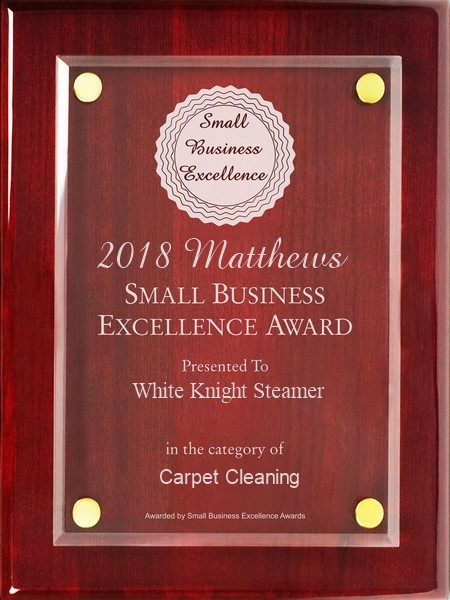 2018 Matthews Small Business Excellence Award
