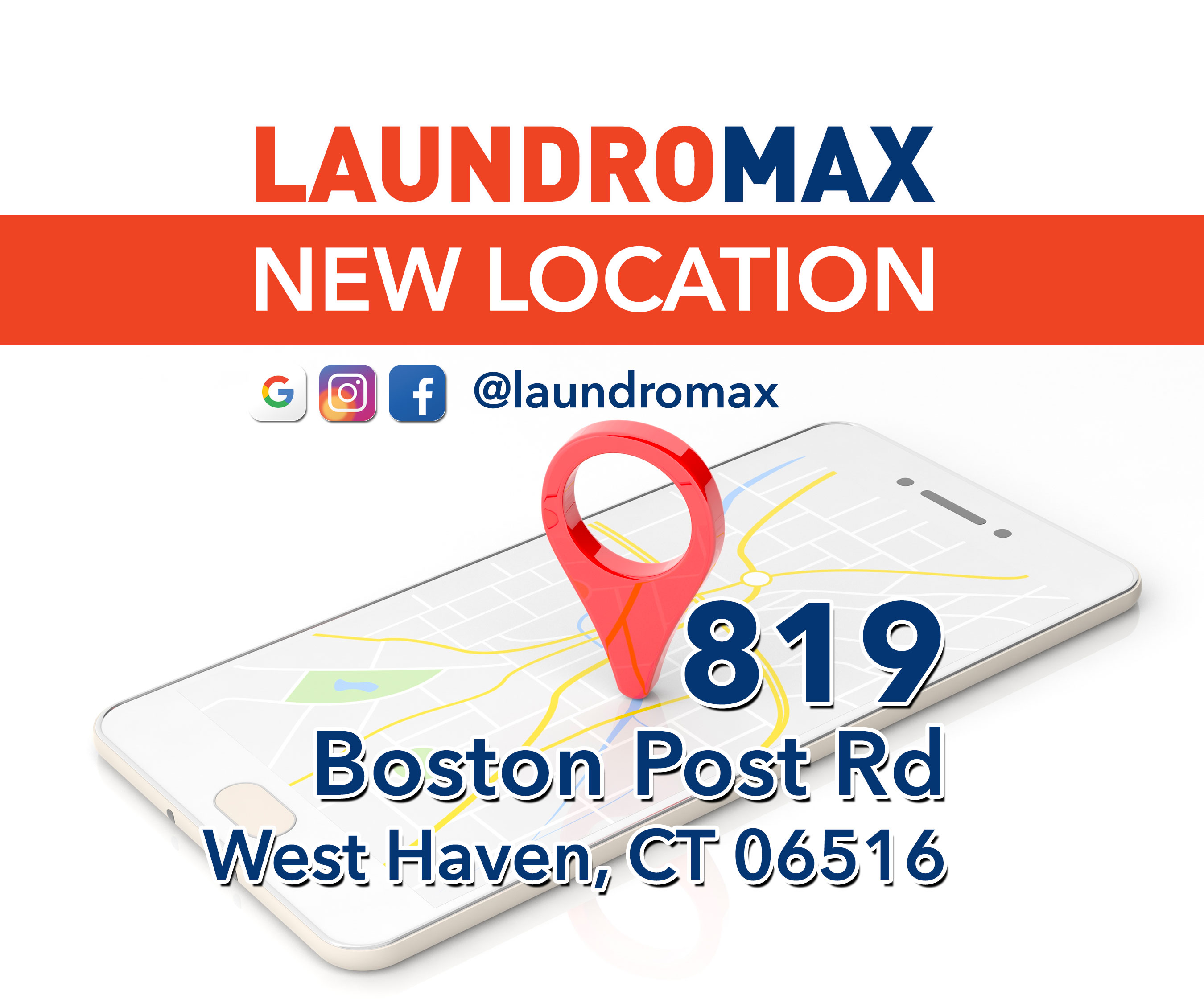New Laundromax in West Haven, CT – Free Dry Every Day!