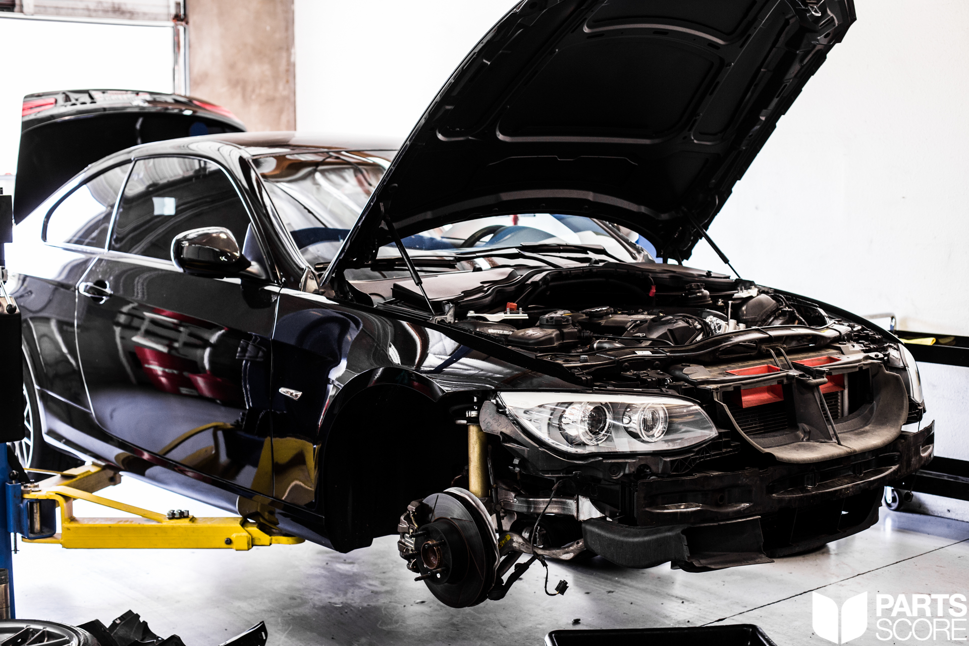 partsscore, parts score, bmw, bmwm, 328i, n51, n52, bmw328i, e90, e92, e91, e93, supercharged, supercharger, vortech, esstuning, ess tuning, evolutionracewerks, evolution race werks, catchcan, trackcar, racecar