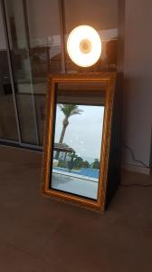 Gold Frame Mirror Booth