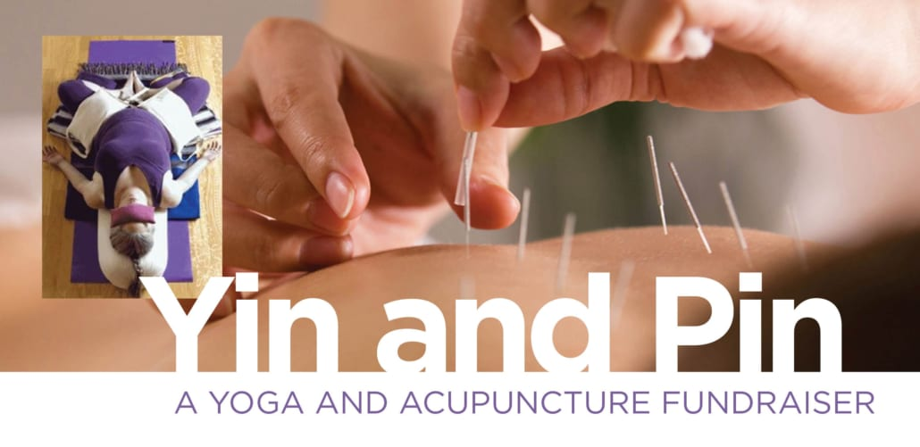 Yin and Pin: A Yoga and Acupuncture Fundraiser @ Breezeway Yoga Studio | Knoxville | Tennessee | United States