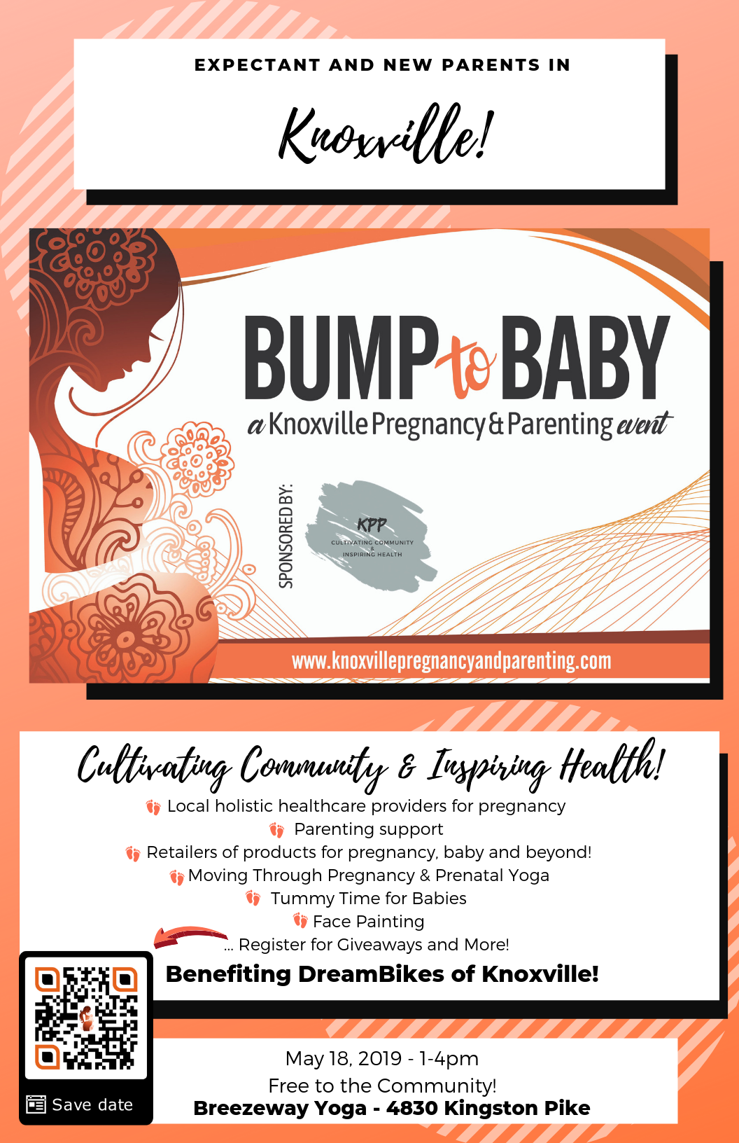 From Bump to Baby: A Knoxville Pregnancy and Parenting Event @ Breezeway Yoga Studio | Knoxville | Tennessee | United States