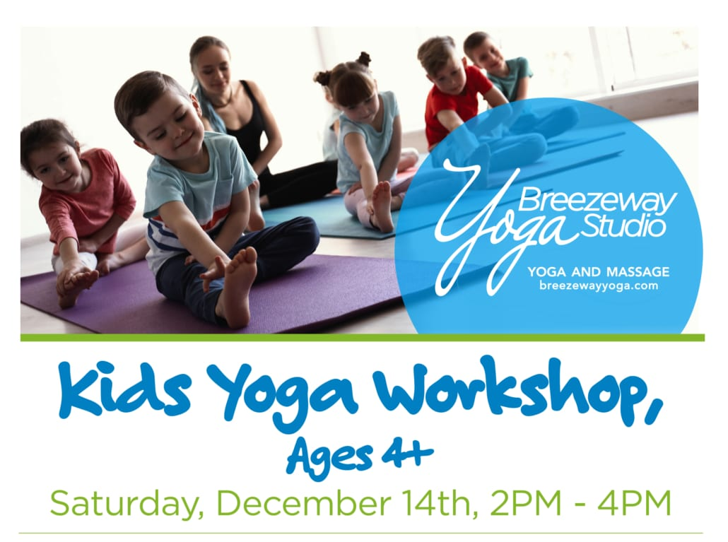 Kids Yoga Workshop Mathu Sutharshan and Holly Knowles @ Breezeway Yoga Studio