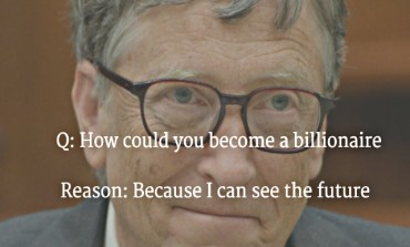 Not Jobs, Bill gates predicted about online & tech future