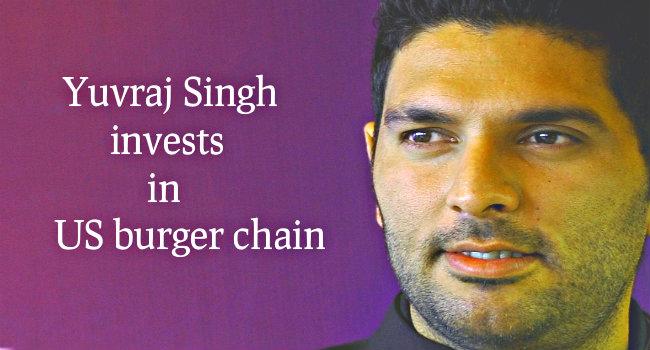 Yuvraj Singh invested in Carls Jr