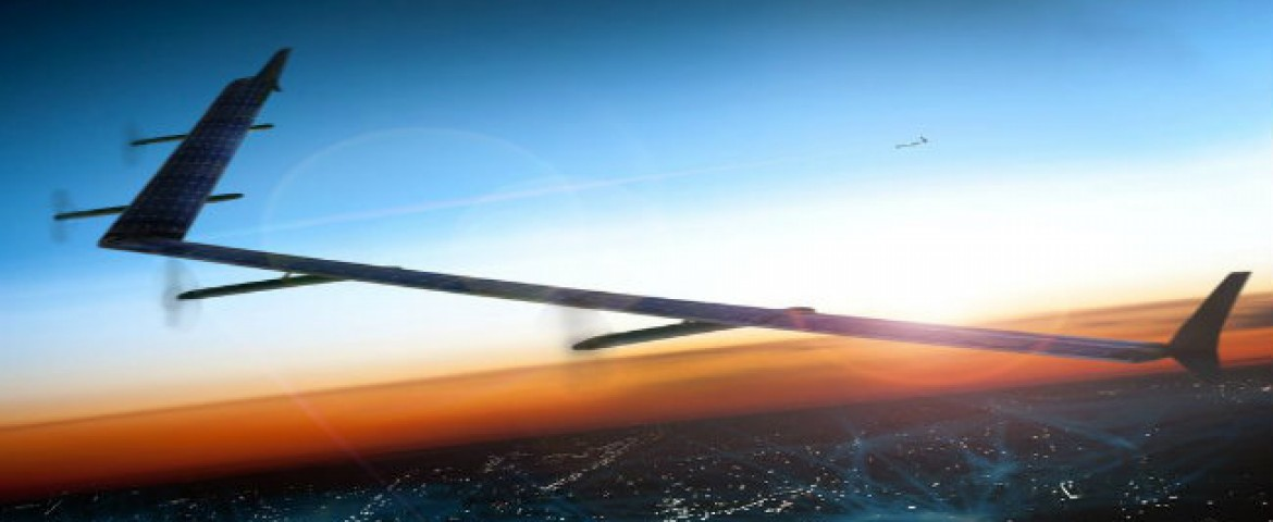 Breaking News: Internet.org presents its first offering,Aquila, solar powered air-craft,beams internet