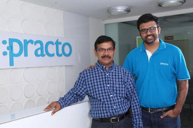 From Left to Right: Ramesh Emani, Founder & CEO at Insta Health and Shashank ND, founder & CEO at practo