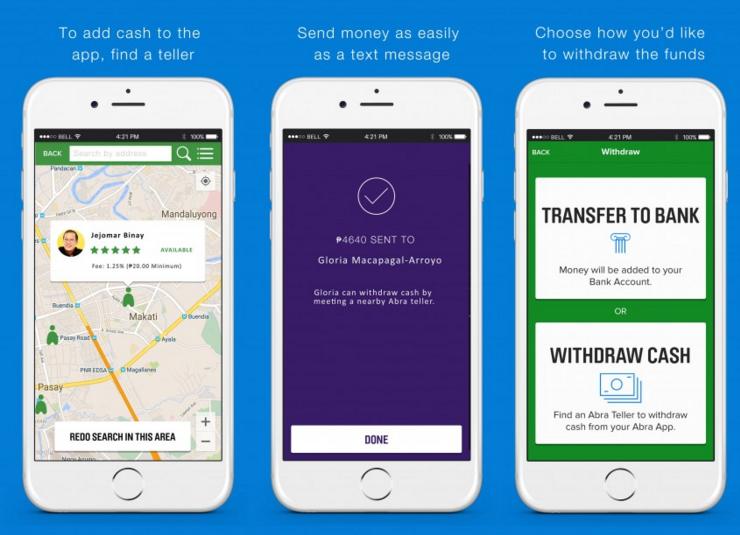Abra cashless payment