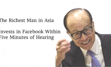 Meet The Richest Man in Asia, Also An Investor in Facebook