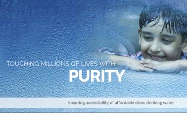 Aquapurum, a Bengaluru Based startup Showcased Innovative Way To Treat Water