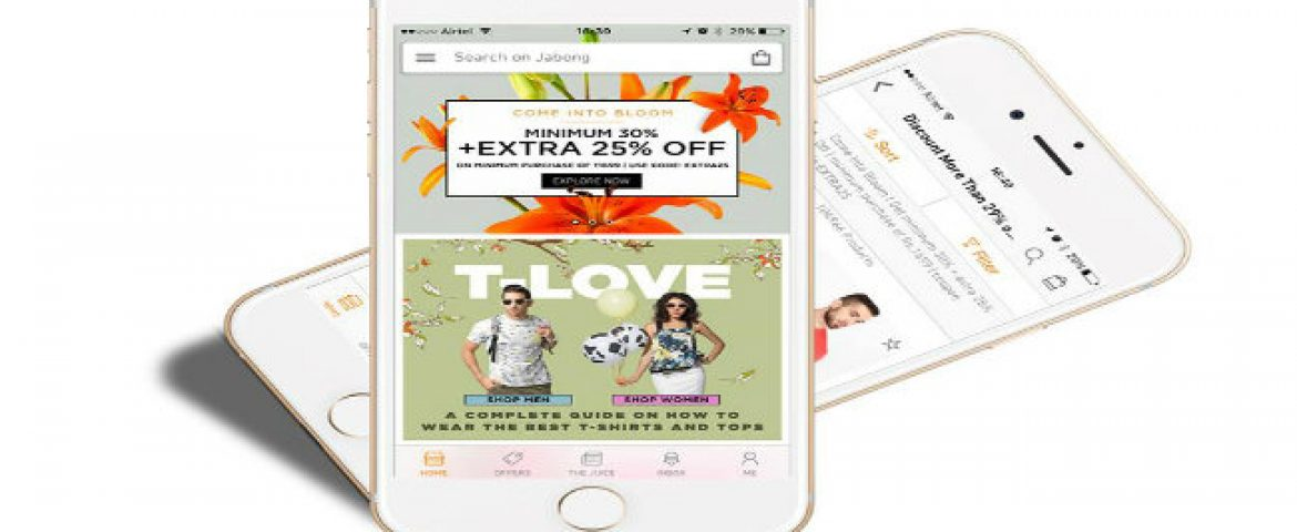 Jabong Narrows Down Gross Loss to 46.7 cr in 2015
