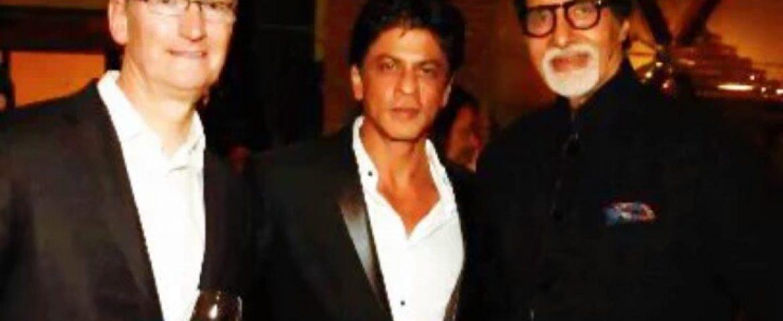 Apple Chief Tim Cook Met ICICI Top Management, Also Met SRK at Dinner