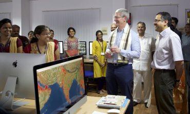 Tim Cook Meets Chairman of Airtel Sunil Bharti Mittal