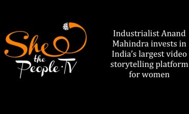 Anand Mahindra Invested in SheThePeople.TV
