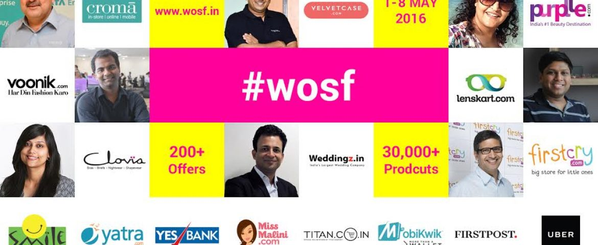 After GOSF, Now WOSF – Women's Online Shopping Festival is Here To Pamper You