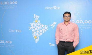 Online Tax Returns Filing Platform ClearTax Raises $2 million (Rs 13.3 crore) Funding