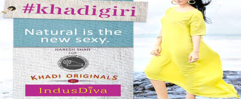IndusDiva Unveils Khadi Originals; To Be Available on Myntra