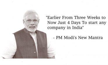 """4 Din Mai Bano Karobari (Businessman)"" - PM Modi's New Business Mantra"