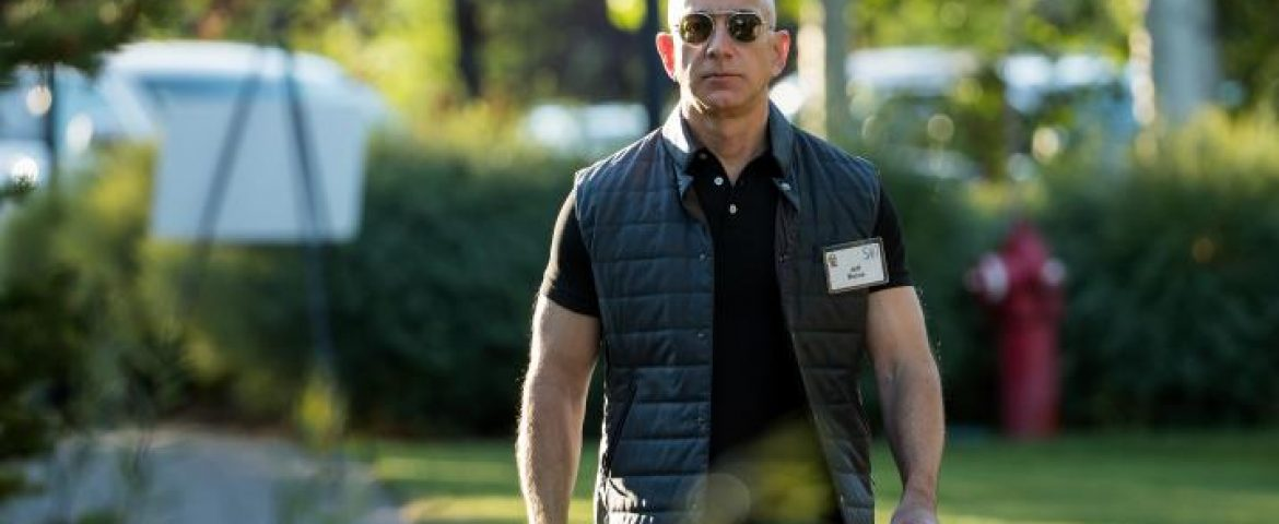 Bezos accuses Enquirer of 'blackmail' over intimate photos