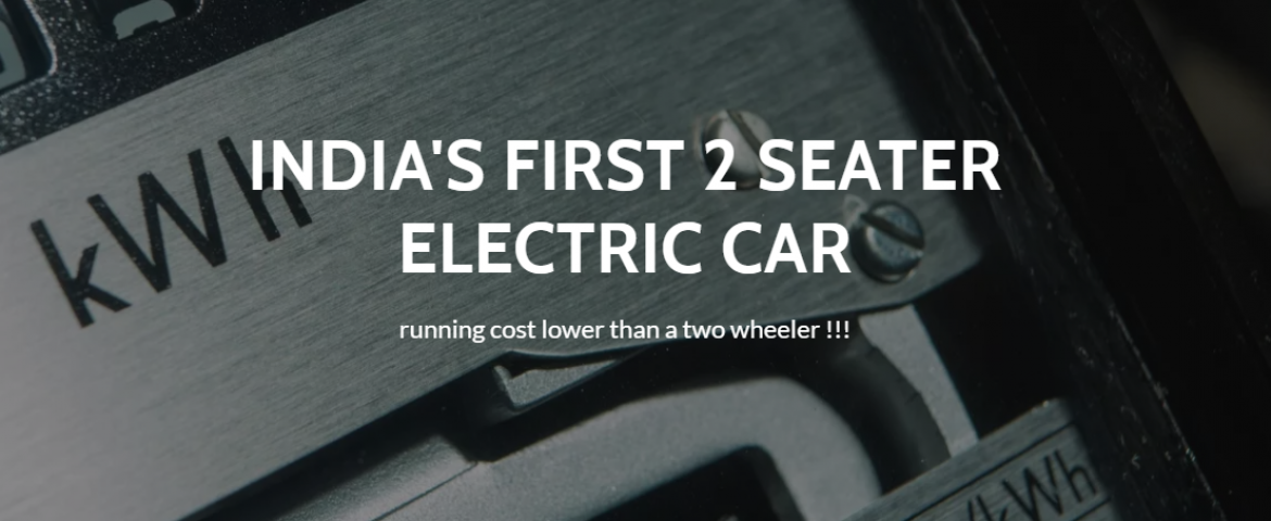 India's First Electric Car That Will Run 200 km On a Single Charge