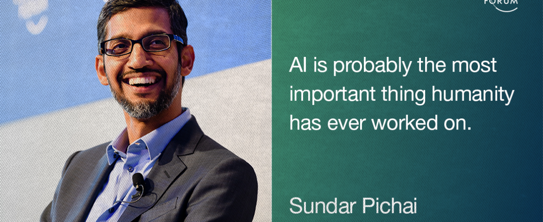 AI will be Bigger Than Electricity or Fire- Sundar Pichai, Google CEO
