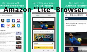 """Amazon Launches a """"Lite"""" Web Browser App for India"""