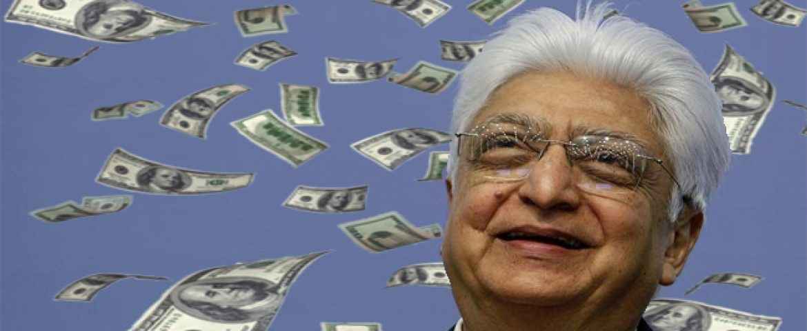 Azim Premji Makes $130 Million in Flipkart Deal